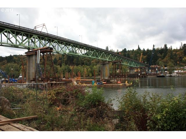 Sellwood Bridge construction