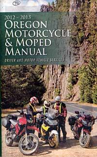 Oregon motorcycle manual