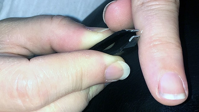 The Glass Splinter from My Foot