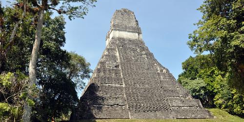 Tikal Temple I (rear view)