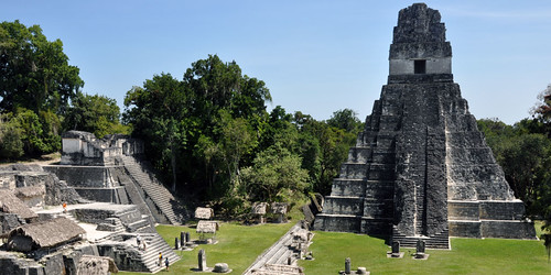 Tikal Temple I and North Acropolis