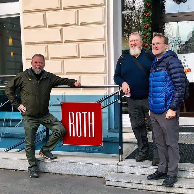 The Roth boys in Vienna