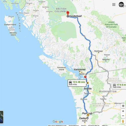 Vanderhoof, British Columbia