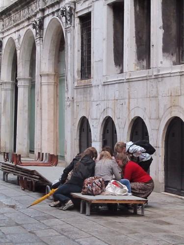 Near the Rialto Bridge - Venice