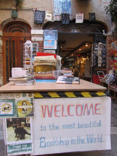 The most beautiful bookshop in the world - Venice