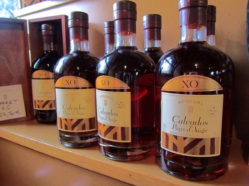 Calvados, an apple brandy