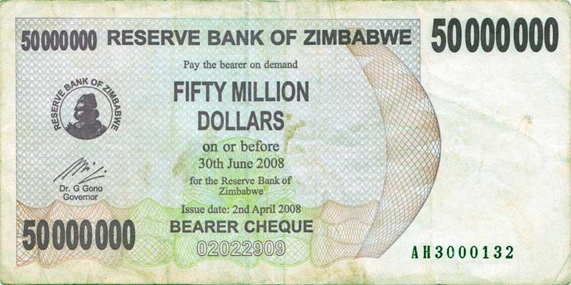 50 million dollars