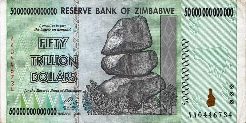 50 trillion dollars