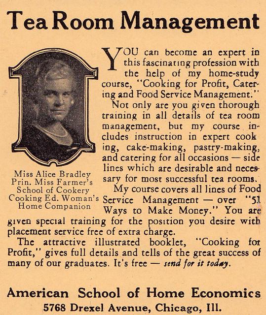 Tearoom ad