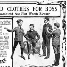 [ad for boys' clothes]
