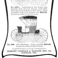 [ad for Elkhart Carriages]