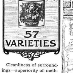 [ad for Heinz and its 57 varieties]