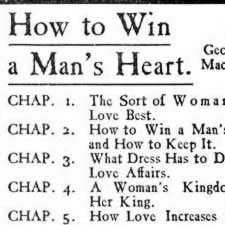 [ad for a book about how women should please men]
