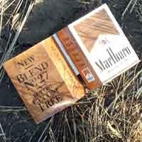 [photo of Cigarette box]