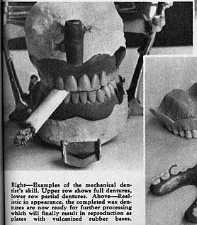 [photo of dentures smoking cigarette...seriously]