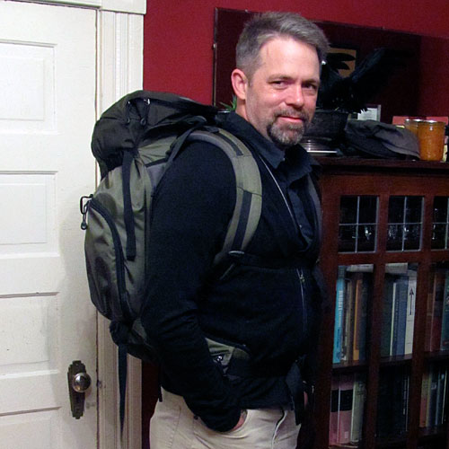 In 2011, this was everything I carried for five weeks in Peru and Bolivia