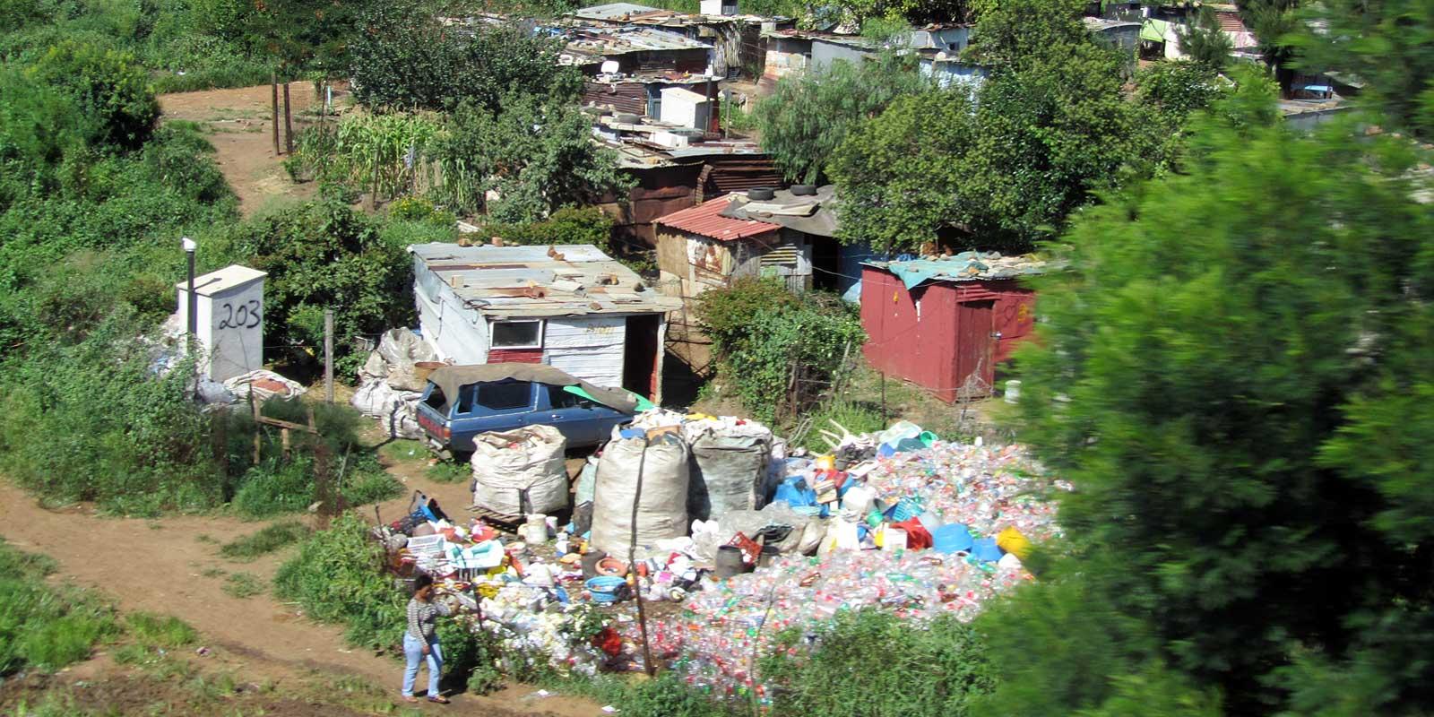 Shantytown in Soweto
