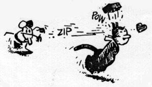 [panel from Krazy Kat comic]