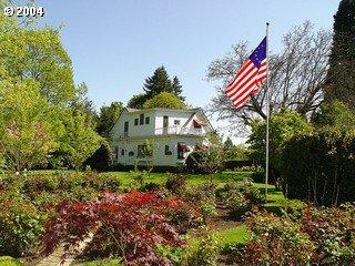 [photo of house from near rosegarden]