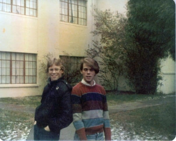 Mitch and J.D. were (and are) nerds