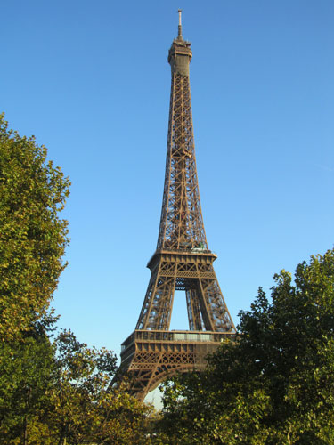 The Eiffel Tower in daytime