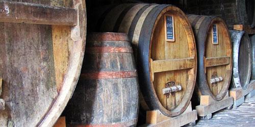 Barrels of Calvados
