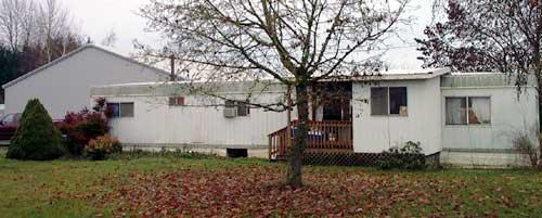 The trailer house where I grew up