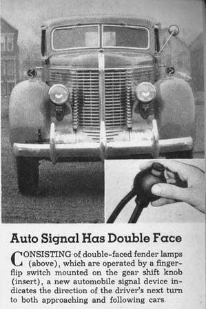 [photo of turn signal]