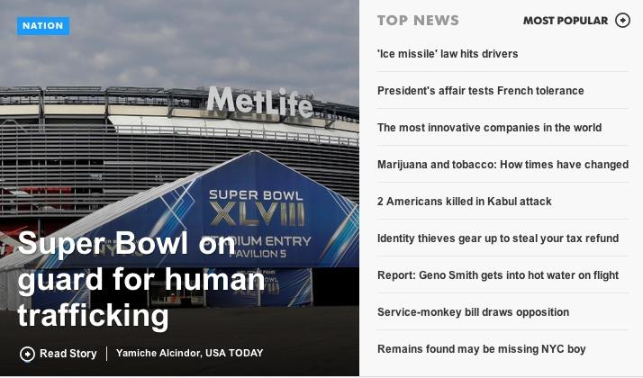 USA Today headlines