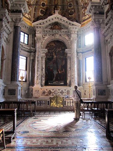 Alcove in Santi Giovanni e Paolo