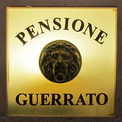 Pensione Guerrato was a fine place, and we'd stay there again.
